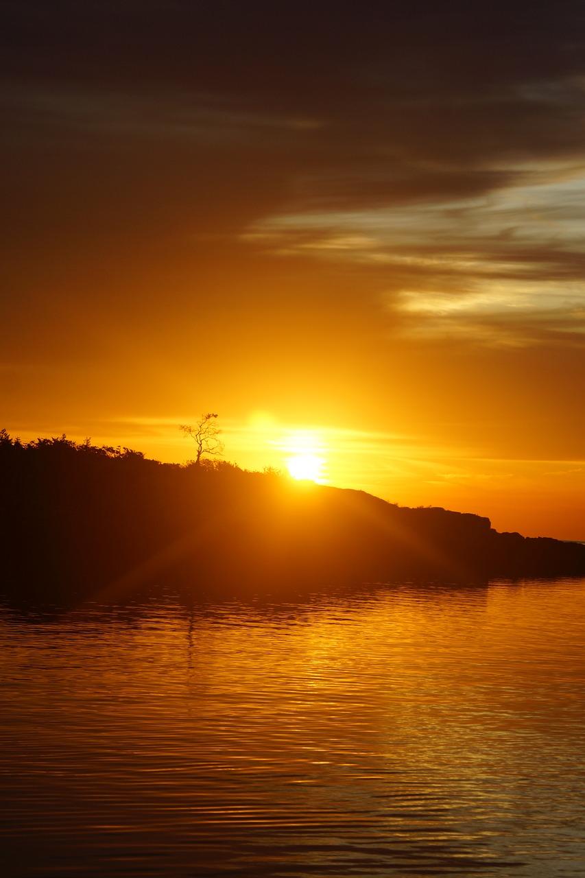 фото восхода и заката солнца