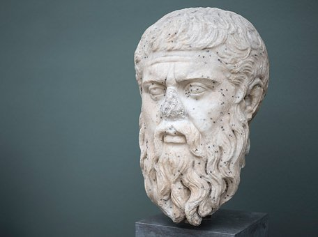Platon, Sculpture, Art, Statue, Antique