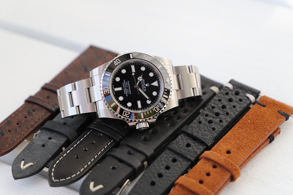 Isolated, Watch, Wristwatch, Rolex