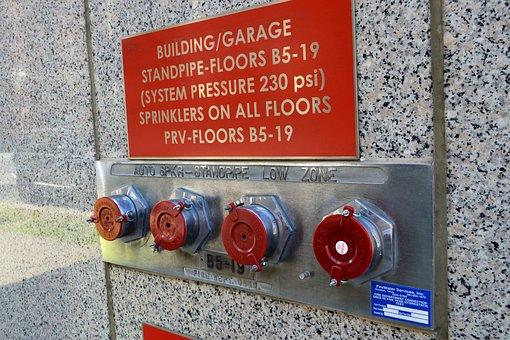 Fire Safety, Standpipe, Sprinkler, Valve