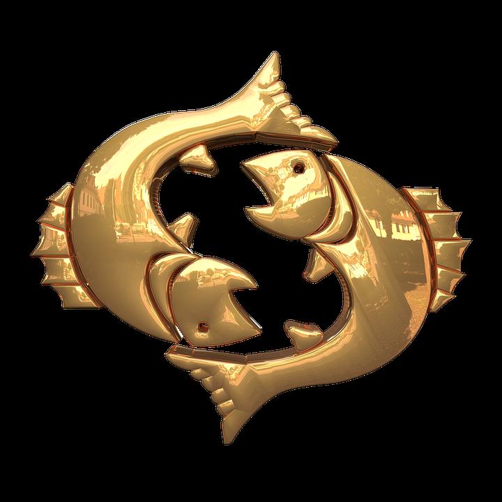 Знаки Зодиака, Символ, Прозрачный Фон, Рыбы