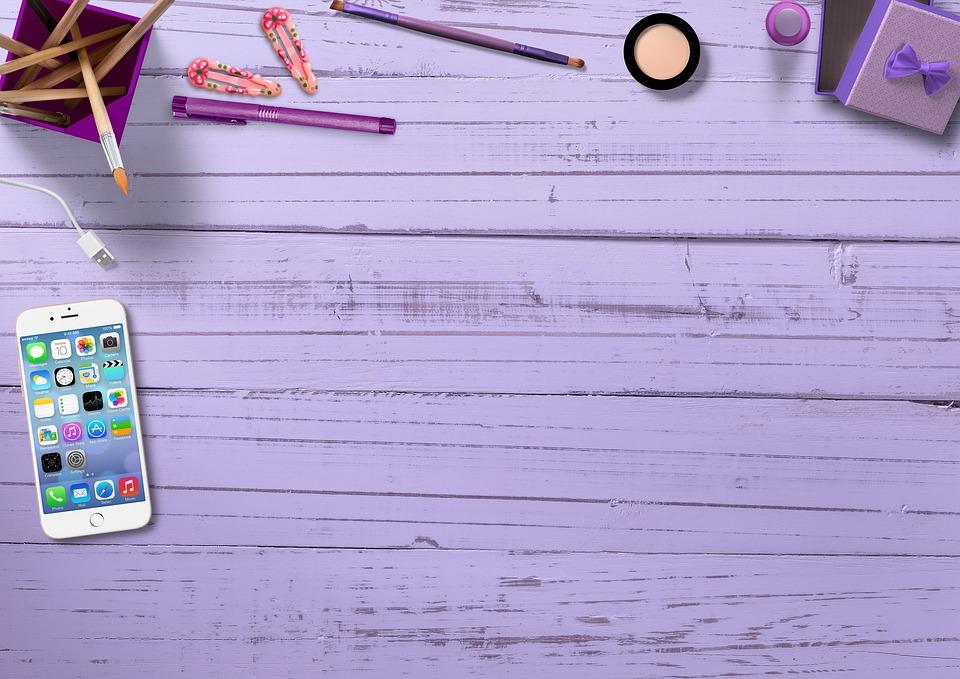 Mobile Phone, Pen Box, Hair Clips, Pens, Marker Pen