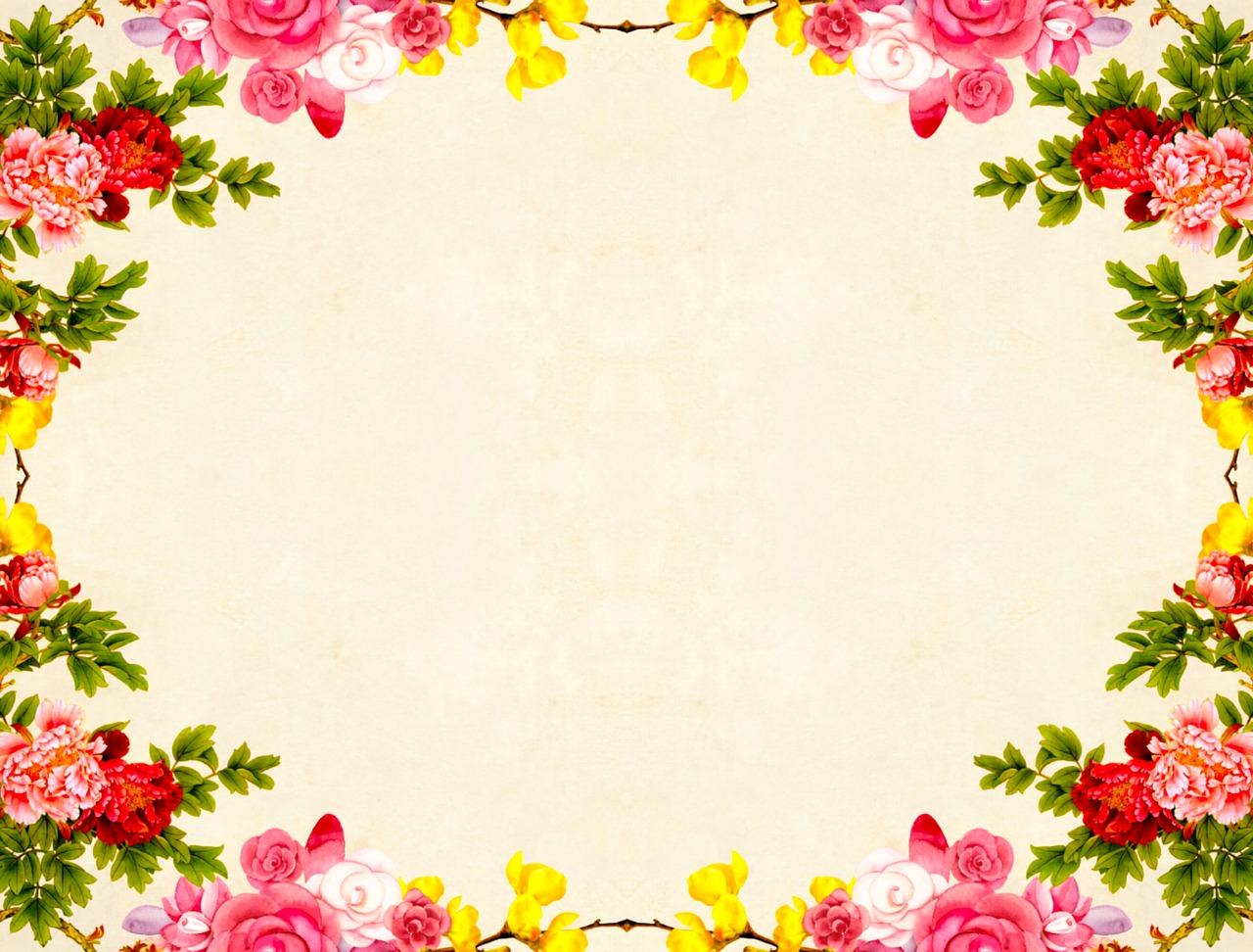 Открытки с розами по краям
