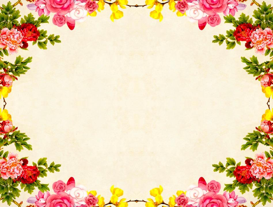 Flower Background Floral · Free image on Pixabay