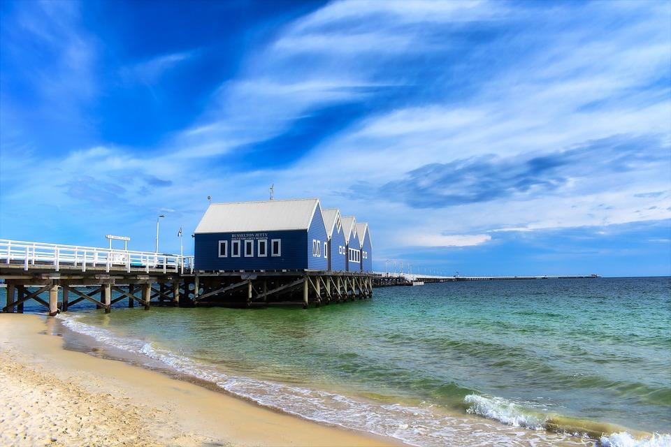 Water, Sea, Sand, Sky, Beach, Jetty, Busselton