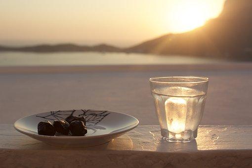 Sonnenaufgang, Abend, Wasser