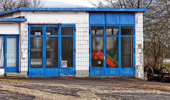 Old Gas Station, Garage, Auto Repair