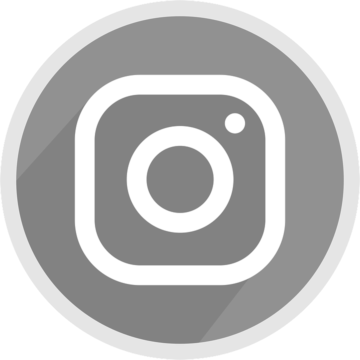 logo instagram grey