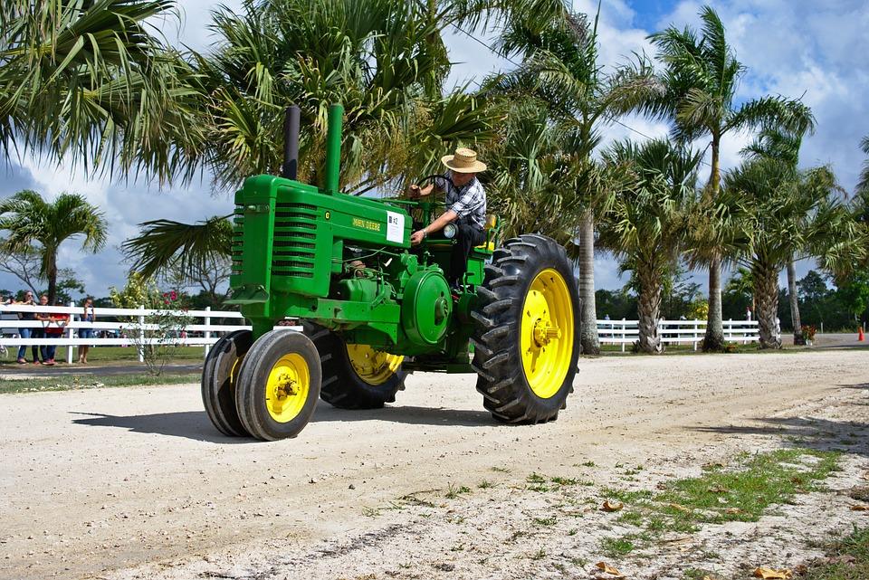 Tractor Antique Farm Equipment Free Photo On Pixabay