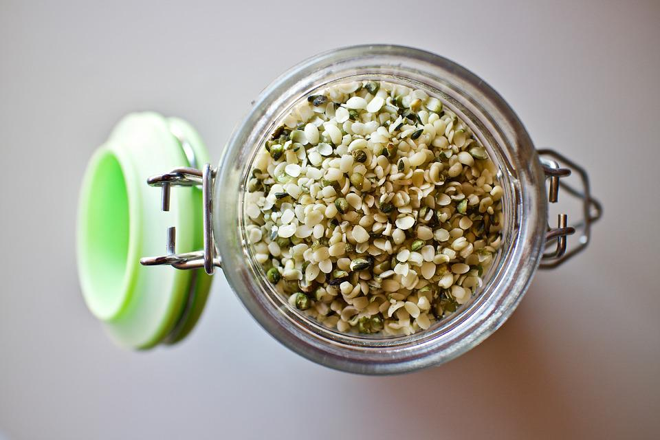 Hemp Seeds, Hemp Seeds Shelled, Seeds, Health, Omega3