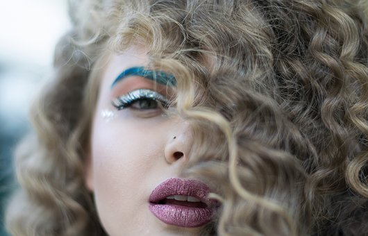 Portrait, Hair, Fashion, Person, Curly