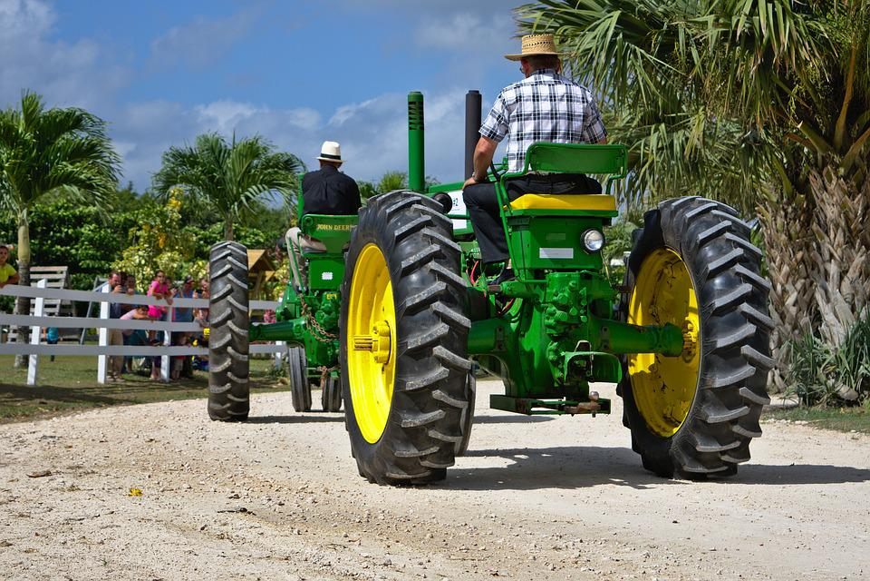Antique Farm Equipment Tractor Free Photo On Pixabay