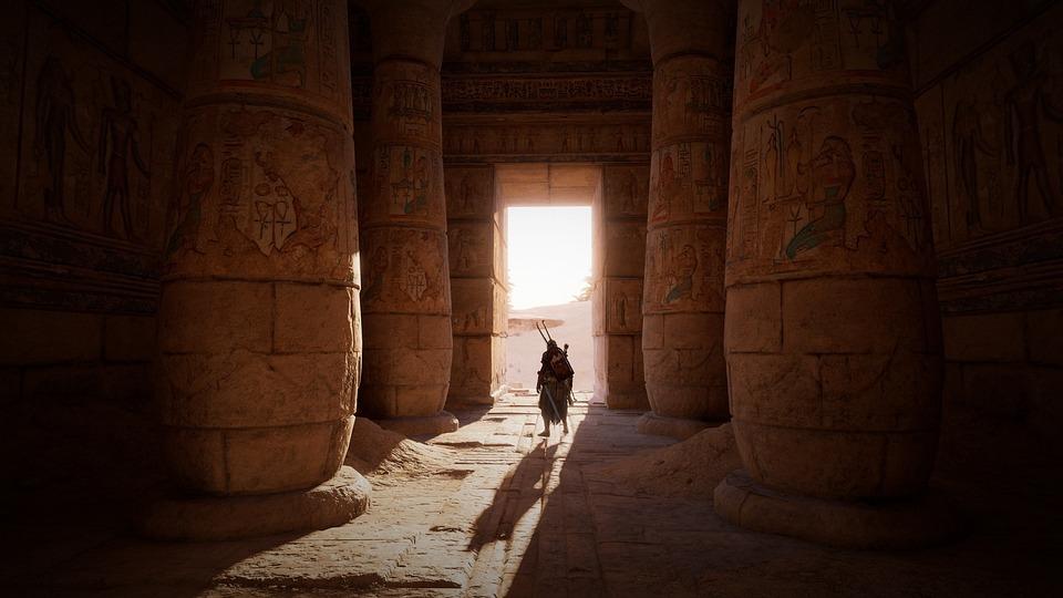 エジプト, 墓, 列