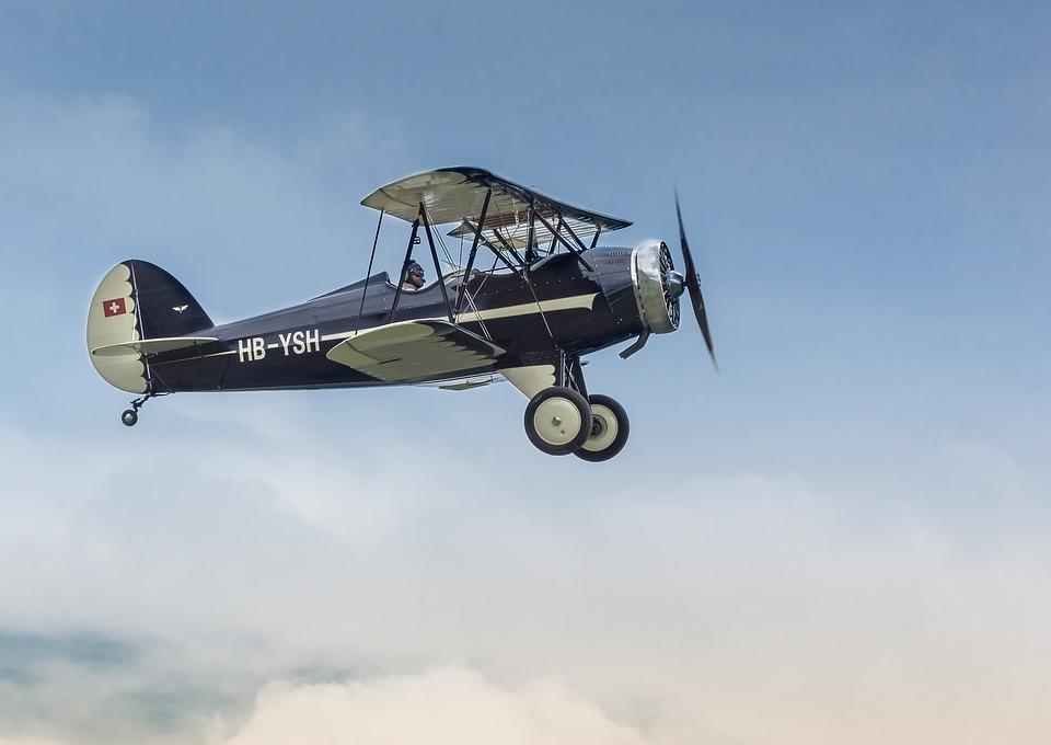 Avion, Plan, Hatz Cb-1, Classique, Vintage