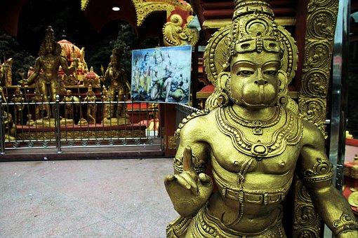 Hanuman, Indian, Faith, Temple, Religion