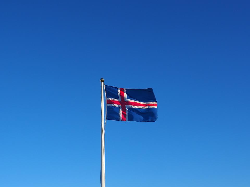 flagge island fahne kostenloses foto auf pixabay. Black Bedroom Furniture Sets. Home Design Ideas