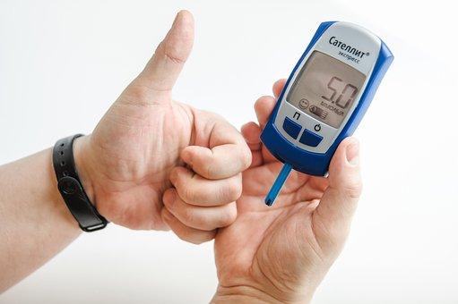 Hand, Diabetes, The Meter