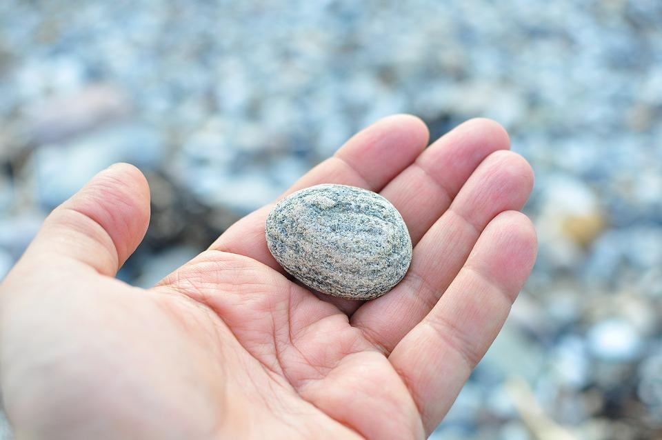Piedras: la energía positiva que te encuentras por el camino