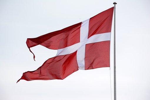 tegning af flag