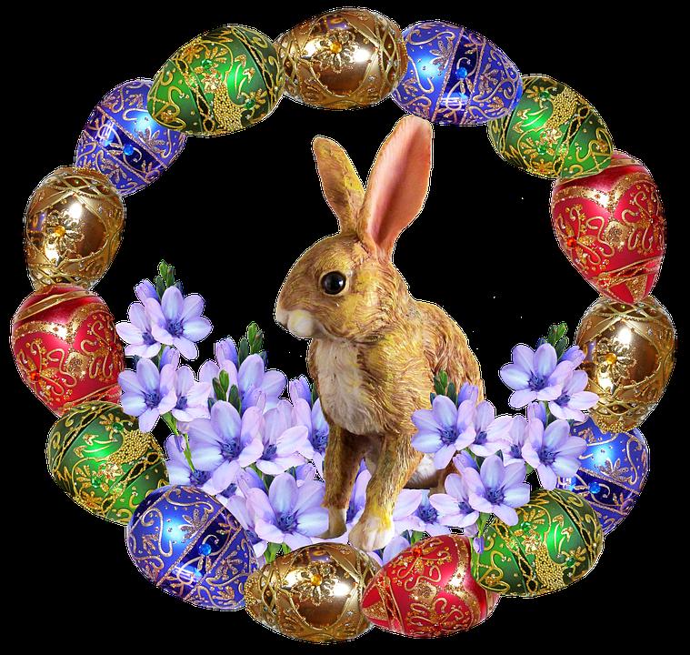 Easter Eggs Rabbit · Free photo on Pixabay