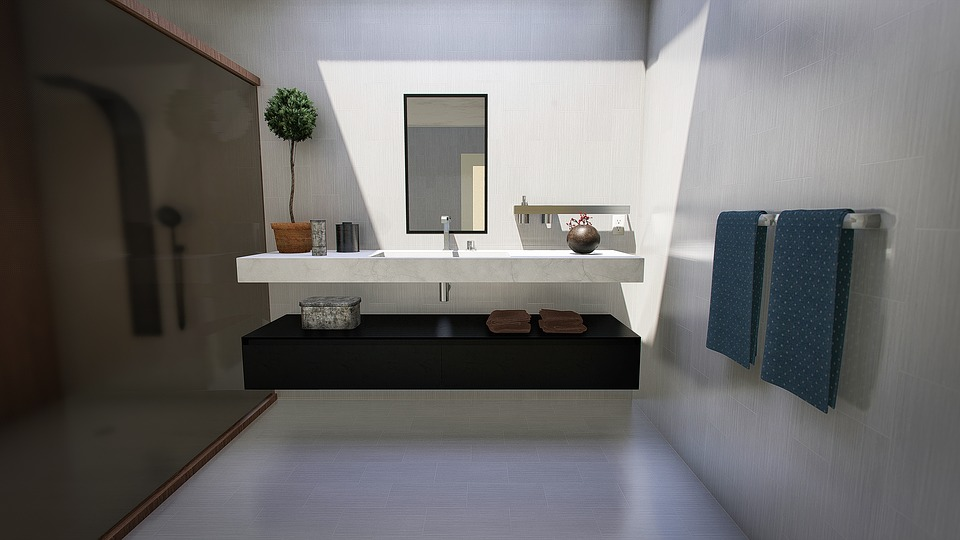 Bathroom, Modern, Design, Lighting, Interior