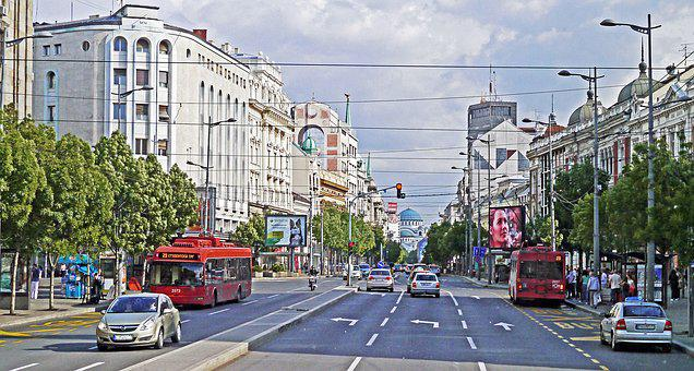 Belgrade, Main Thoroughfare, Dom, Dome