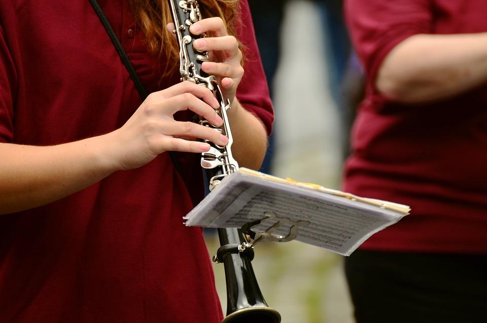 クラリネット, 音楽楽器, 行進, ミュージシャン, 音楽, 人間, 楽器, ストリート ミュージック