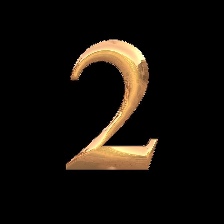 Le Chiffre De 2 Fonte Fond - Image gratuite sur Pixabay