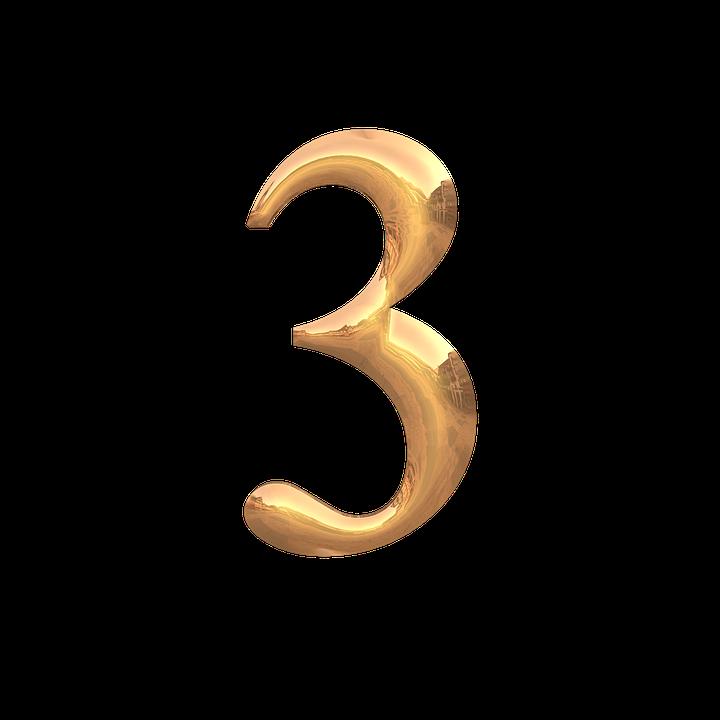 Le Chiffre 3 Fonte Fond - Image gratuite sur Pixabay