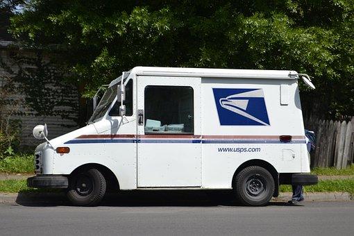 Mail Truck, Mail Clerk, Mailman