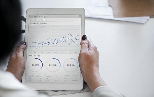 紙, ビジネス, ドキュメント, 解析, 女性実業家, グラフ, 通信, 接続