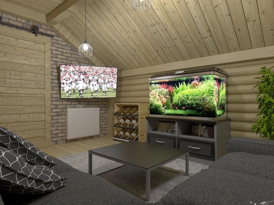 Innerhalb Moderne Luxus Haus