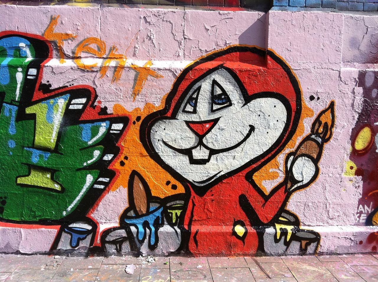 Смешные рисунки граффити