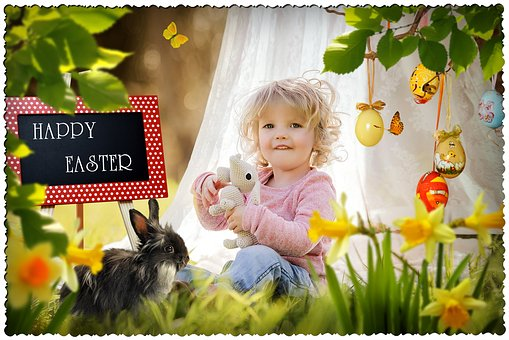 Flower, Child, Fun, Cute, Nature, Little