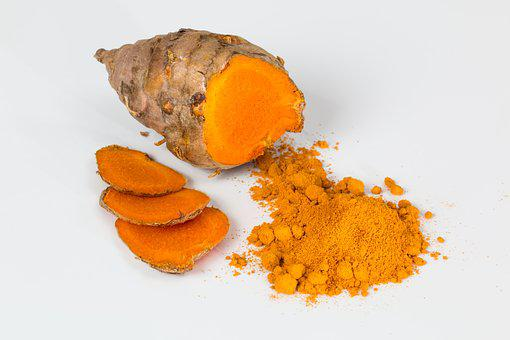 Turmeric, Spice, Curry, Seasoning
