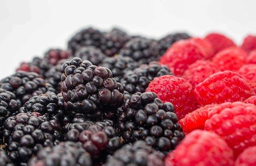 Raspberry, Blackberry, Berry, Fruit
