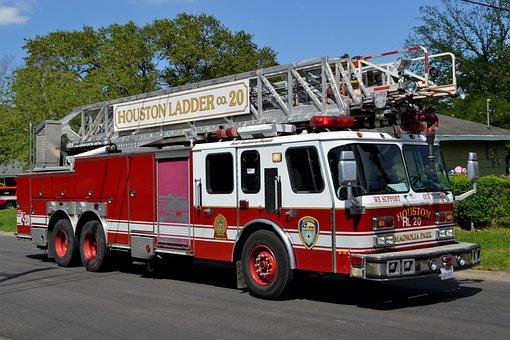 Fire In Houston, Houston Texas, Texas