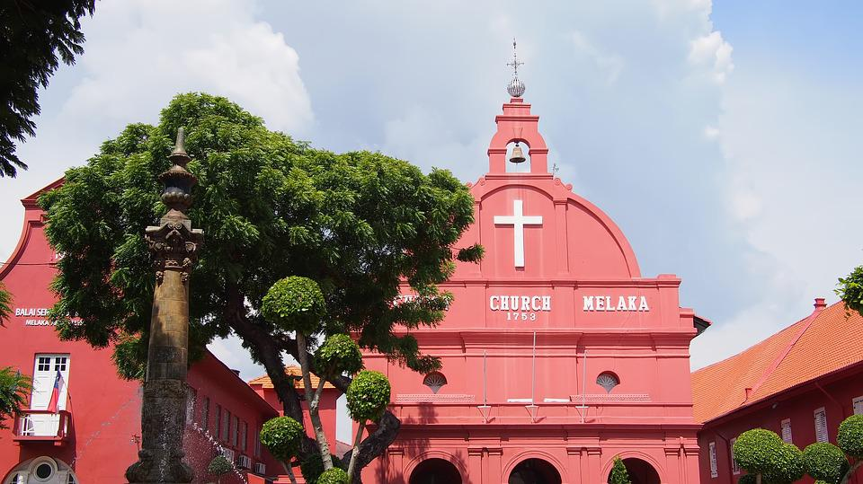 Melaka Church, Structure, Architecture, Sky, Travel