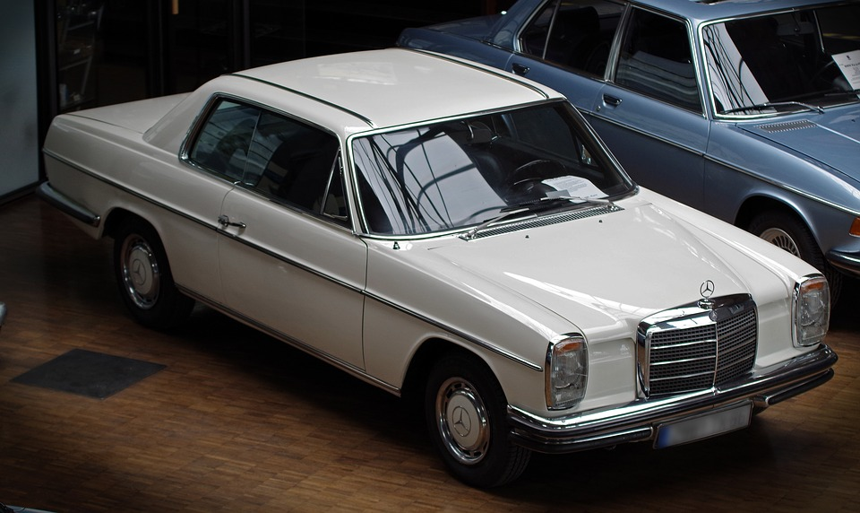 Auto Mercedes Oldtimer Free Photo On Pixabay