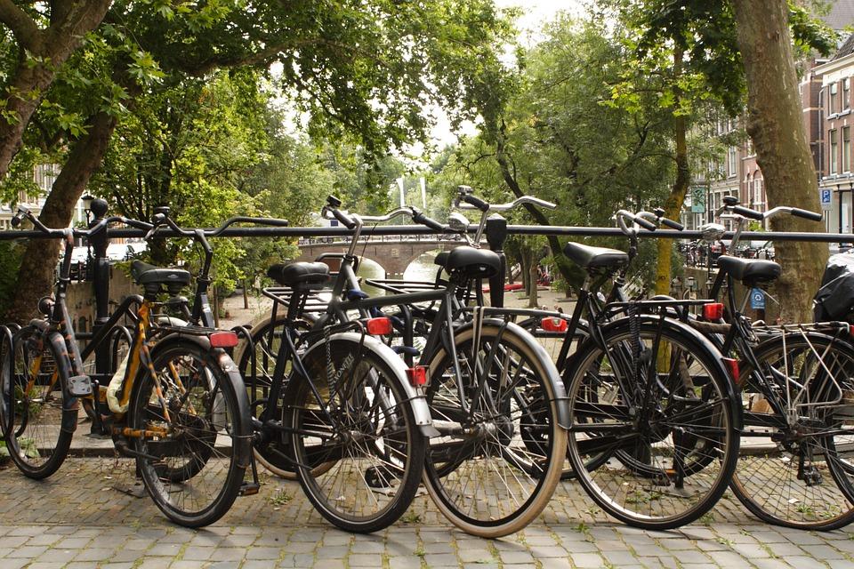 Bicycles in Utrecht