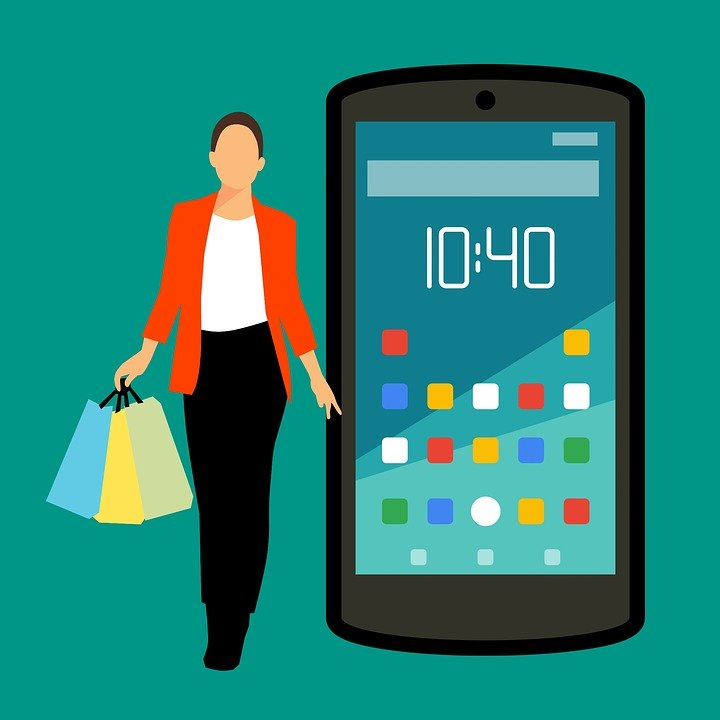 Shopping online icons free image on pixabay for Compra online mobili