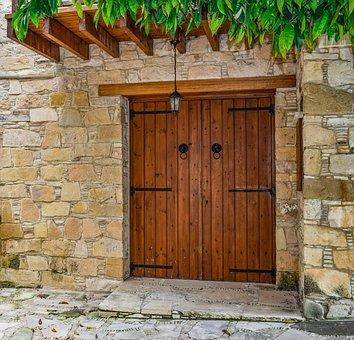 Door Doorway House Wall Entrance