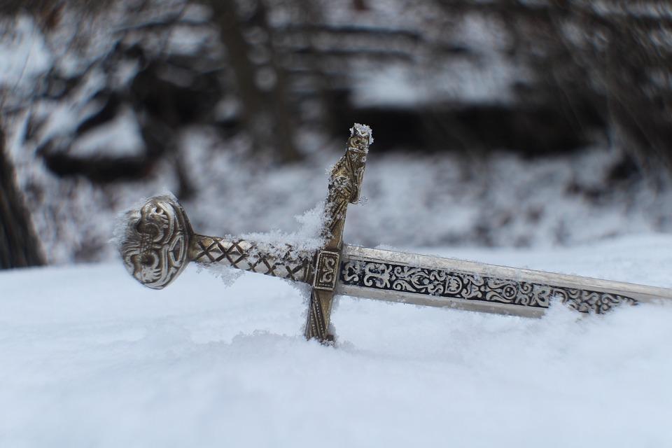 Sword, Weapon, Epic, Fantasy, Celtic, Celtic Design