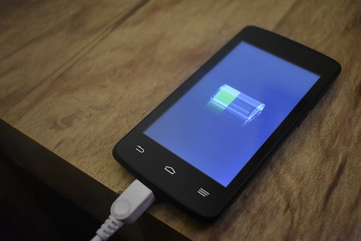 Battery, Loading, Smartphone, Android