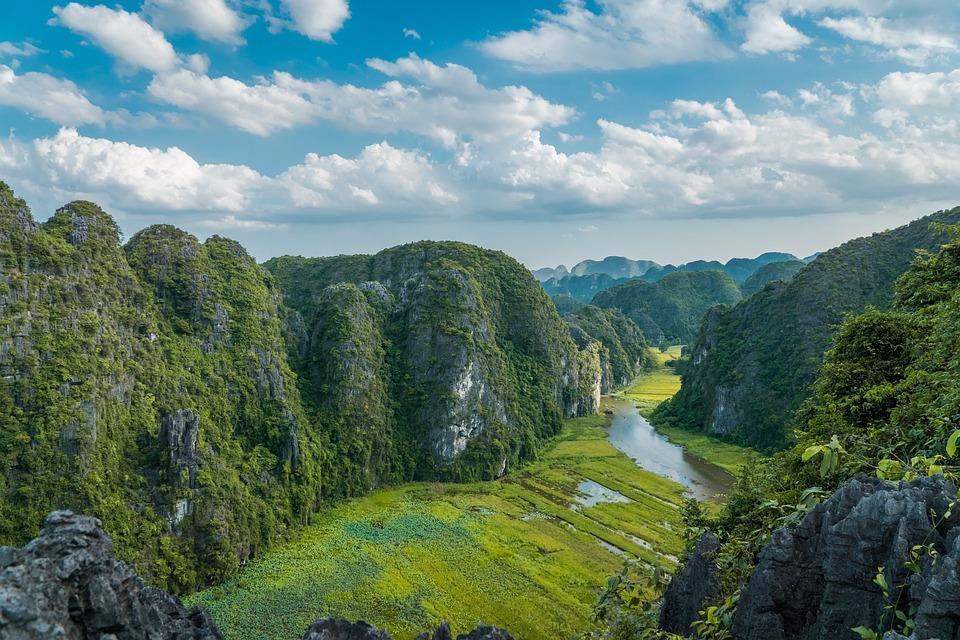 Landscape Vietnam Scenery 183 Free Photo On Pixabay