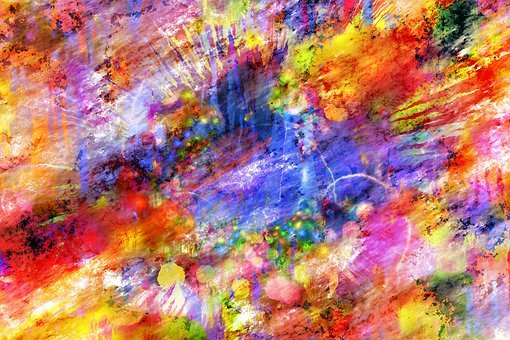 Color Abstract Background Colorful