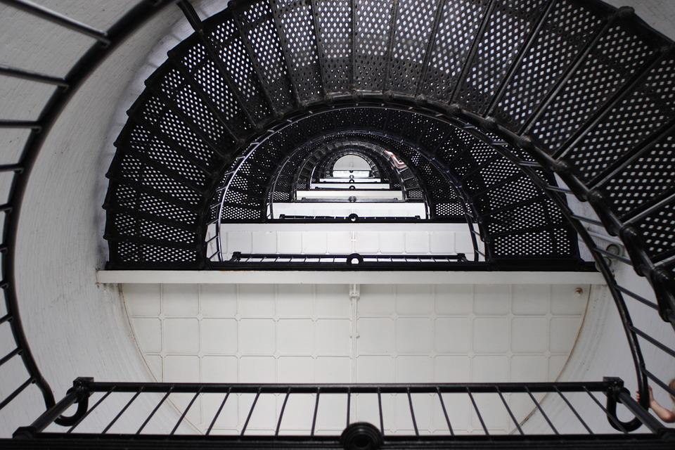 Stairs in St Augustine lighthouse