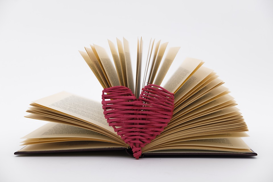 Heart love gift free photo on pixabay heart love gift book leaves pages book pages negle Choice Image