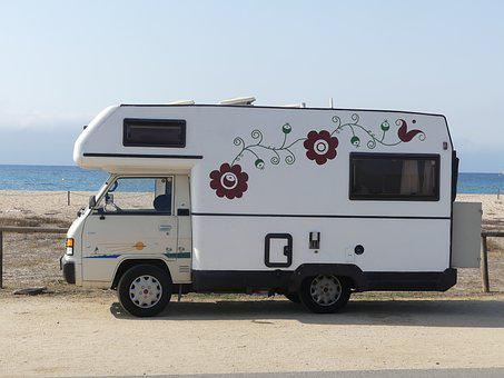 Vehicle, Travel, Outdoors, Rv, Beach