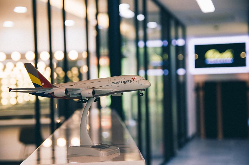 Asiana Airlines, Самолет, Показване, Екипаж